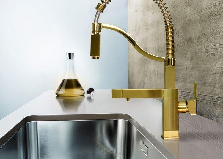شیر آشپزخانه طلایی