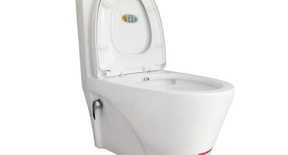 توالت فرنگی بیده دار مدل گلسار فارس